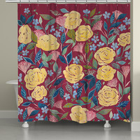 Unbound Blossoms Shower Curtain
