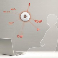 Digital Sundial Shines Time on Walls with Bright Laser Lights | Designs & Ideas on Dornob