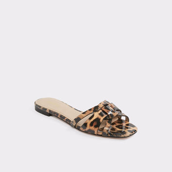 Astirassa Brown Misc. Women's Slides | Aldoshoes.com US