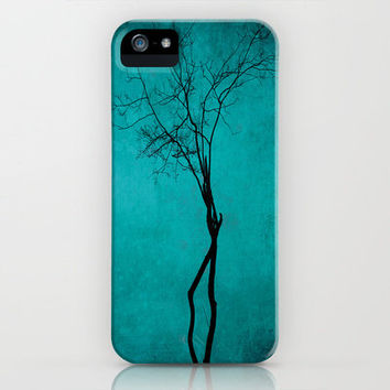 Tree of life ~ blue iPhone Case by Anne Staub | Society6