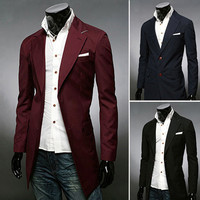 Extra Long Slim Fit Jacket