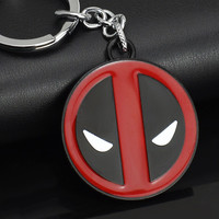 Deadpool SuperHero Stainless Steel Keychain