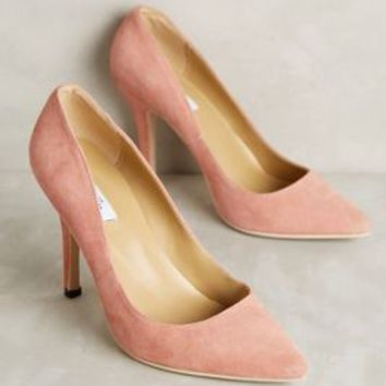 Vanessa Tao Pointed Suede Pumps