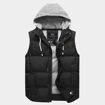 Boys & Men Armani Fashion Casual Vest Jacket Coat