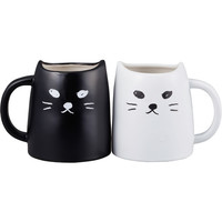 Rakuten: An order product: The tableware that a black cat and a white cat pair mug (mug cup / black cat, white cat) are usually interesting for around two weeks - Shopping Japanese products from Japan