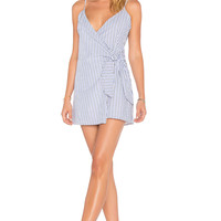 Lovers + Friends X REVOLVE Julian Dress in Jet Set Stripe