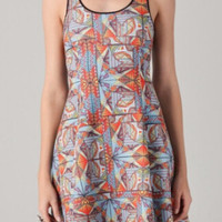 Mosaic Tank Top Dress