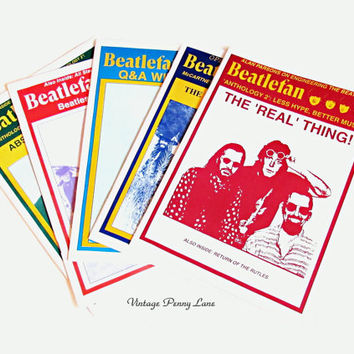 Vintage Beatles Magazines, Beatlefan 1995 / 96