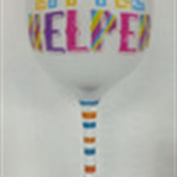 16 oz. Frosted Wine Glasses - Mommy's Little Helper