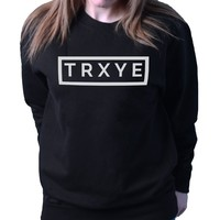Trxye Troye Sivian Music Ladies Unisex Loose Fit Sweatshirt BSW210