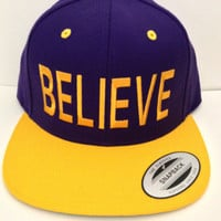 BELIEVE Snapback One size fits all Justin Bieber BELIEVE