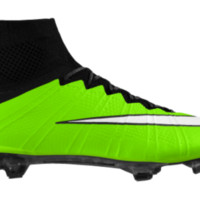 Nike Mercurial Superfly iD Custom Men's Soccer Cleats - Green