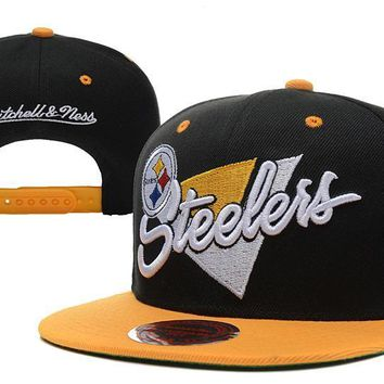 PEAPON Pittsburgh Steelers Snapback NFL Football Cap M&N