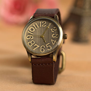 Good Price Awesome Unisex Vintage Dial Watch = 4815445892
