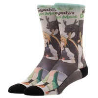 Miss Kobayashi's Dragon Maid Crew Socks