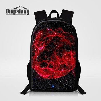 Girls bookbag Dispalang Backpack Universe Galaxy Printing School Bags For Teenager Girls Casual Travel Bag Kids Bookbags Rucksack Mochila AT_52_3
