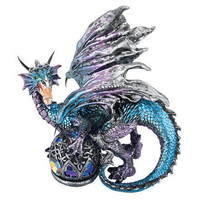 ©Fanged Shadow Gothic Dragon Statue - QS292978 - Design Toscano