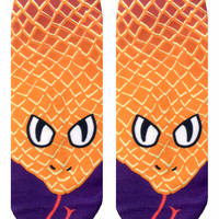 Snake Ankle Socks