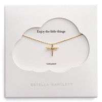 Estella Bartlett The Little Things Dragonfly Necklace | Nordstrom