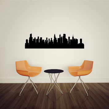 Midwest United States USA Vinyl Wall Decal Chicago Indianapolis Columbus Cleveland