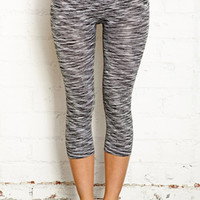 Space Dyed Workout Capris
