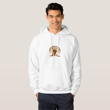 Armadillo Isolated Retro Hoodie