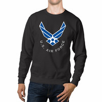 Air Force US Logo Unisex Sweaters - 54R Sweater