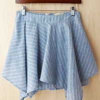 Sea Waves Swish Skirt