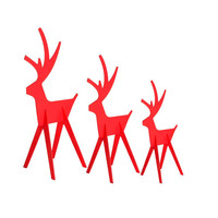 Season's Direct Holiday Decorative Deer Lawn Ornament