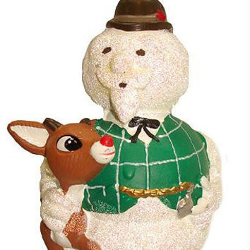 Christmas Ornament - Sam The Snowman And Rudolph