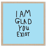 Lazy Oaf | Glad You Exist Card