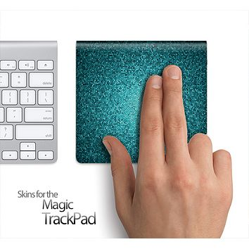 Flashy Green Tiled Skin for the Apple Magic Trackpad