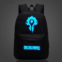 World Of Warcraft For The Horde Luminous Backpack