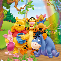 WINNIE THE POOH - group Poster | Sold at Abposters.com
