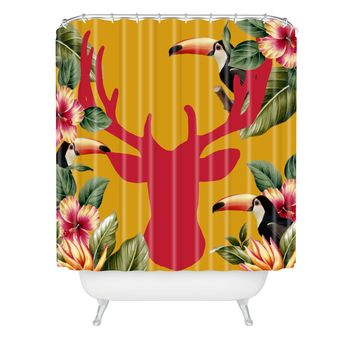 Natt Haiti Deer 2 Shower Curtain