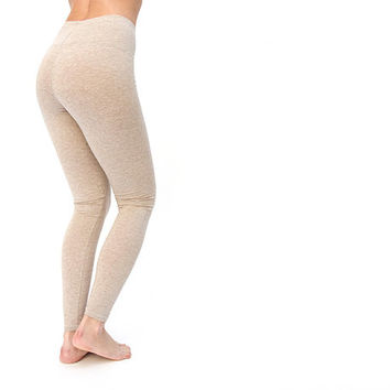 Heater Basic Beige wool - winter leggings