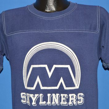 80s Skyliners Jersey Style Ringer t-shirt Small