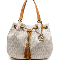 Large Jet Set Gathered Tote - MICHAEL Michael Kors