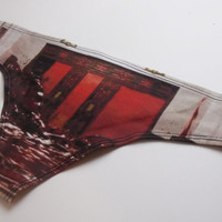 The Shining Blood Hallway Period Panties Organic Underwear Lingerie