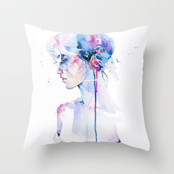 loss Throw Pillow by Agnes-cecile | Society6