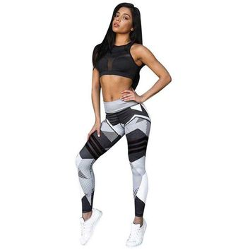 LMFDP2 Womens Workout Mid Waist Leggings