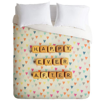 Happee Monkee Happy Ever After Duvet Cover