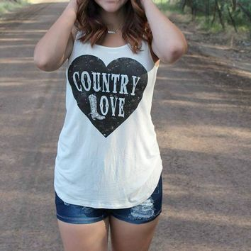 Country Love Tank Top