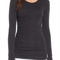 James Perse Tubular Cashmere Tee   Nordstrom