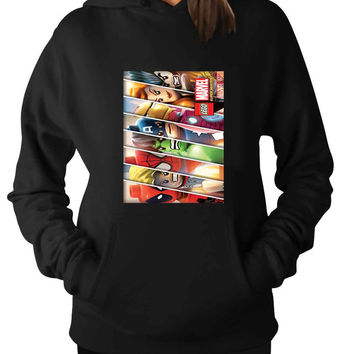 Lego Avenger For Man Hoodie and Woman Hoodie S / M / L / XL / 2XL*AP*