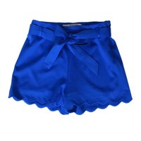 Spring In The City Shorts in Royal Blue | Monday Dress Boutique