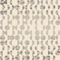 Debut Wallpaper in Grey and Beige design by York Wallcoverings