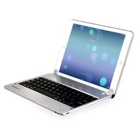 Minisuit for iPad Air 2 (6th Gen 2014) Bluetooth Chrome Keyboard Case