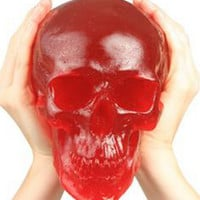 World's Largest Giant Gummy Skull-Cherry