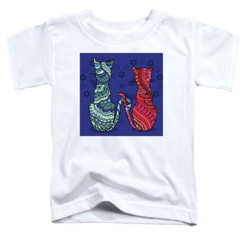 Cat Lovers - Toddler T-Shirt